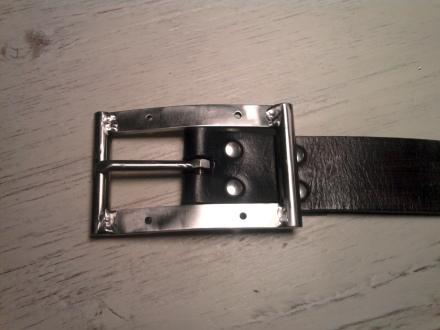 Belt#1 Home welded buckle