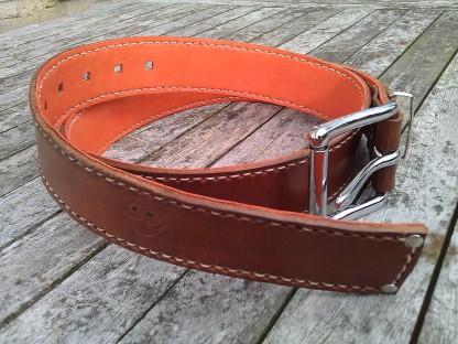 Belt#4 Handmade leather belt
