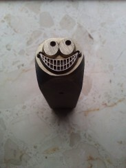 The Crazy Smile stamp
