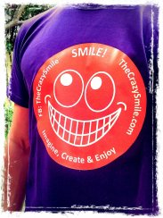 T-shirt with a smile