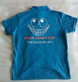 TheCrazySmile on a Tshirt