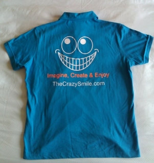 TheCrazySmile on a Tshirt