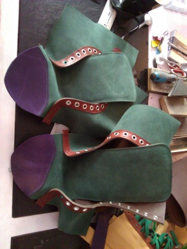 Shoes#1 Sides with front attached