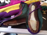 Shoes#1 Lining glued to inner sole