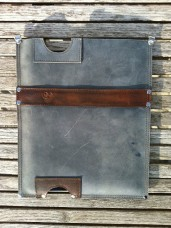 Leather iPad sleeve #1