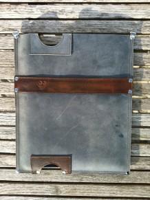 Leather iPad sleeve #1