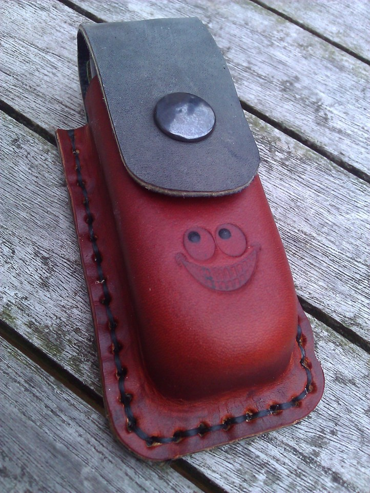 Leather pocket for Leatherman