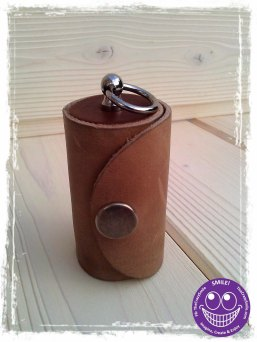 TheCrazyTube Leather case for Olloclip lens