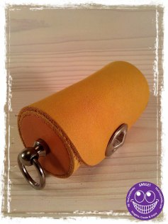 Small Leather case TheCrazyTube