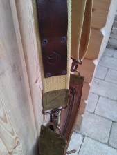 Handmade leather bag Smile & Zipper