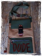 Handmade Leather Bag - Dude
