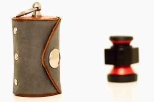 Olloclip lens and Handmade Leather case - Photo by EB Photography