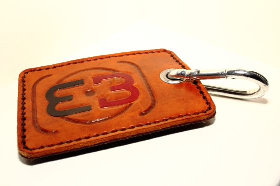 Leather Logo Business Card Holder