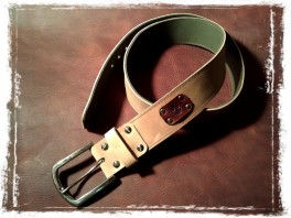 TheCrazyBelt - Reversible Leather Belt 5cm wide