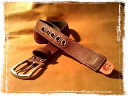 TheCrazyBelt - Reversible Leather Belt