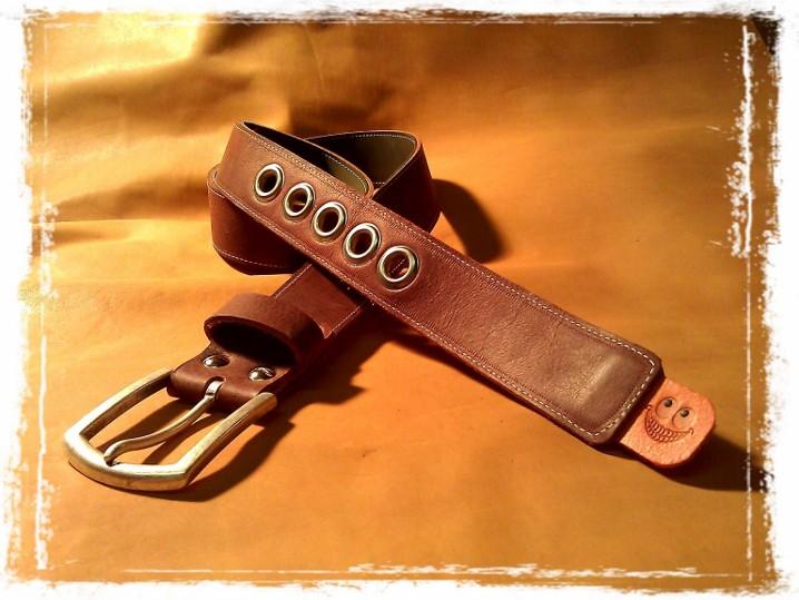 TheCrazyBelt - Reversible Leather Belt
