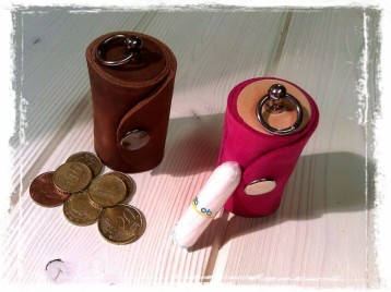 TheCrazyTube as a Coin box & Tampon case