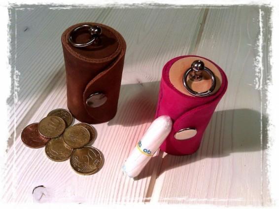 TheCrazyTube as a Coin box & Tampon case