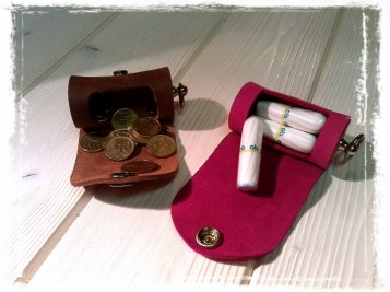 TheCrazyTube as a Tampon case & Coin box
