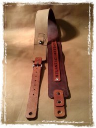 leather guitar strap for atlantic attraction