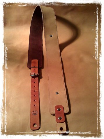 leather guitar strap thecrazysmile