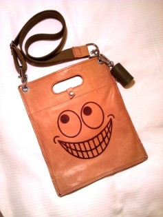 The plastic Leather Bag