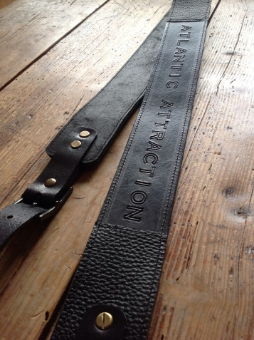 Leather Guitar straps for Atlantic Attration 10