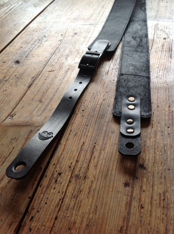Leather Guitar straps for Atlantic Attration 11