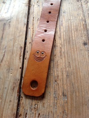 Leather Guitar straps for Atlantic Attration 15