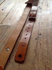 Leather Guitar straps for Atlantic Attration 16