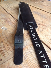 Leather Guitar straps for Atlantic Attration 18