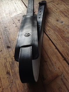Leather Guitar straps for Atlantic Attration 20