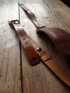 Leather Guitar straps for Atlantic Attration 23