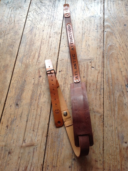 Leather Guitar straps for Atlantic Attration 24