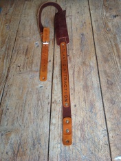 Leather Guitar straps for Atlantic Attration 3