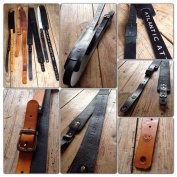 Leather Guitar straps for Atlantic Attration 31