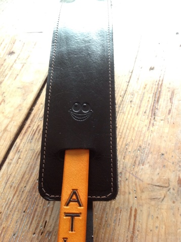 Leather Guitar straps for Atlantic Attration 5