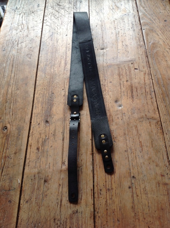 Leather Guitar straps for Atlantic Attration 8