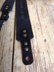 Leather Guitar straps for Atlantic Attration 9