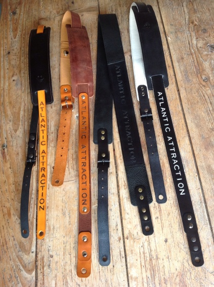 Leather Guitar straps for Atlantic Attration