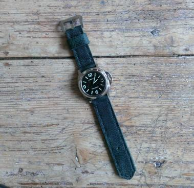 leather watch strap for panerai
