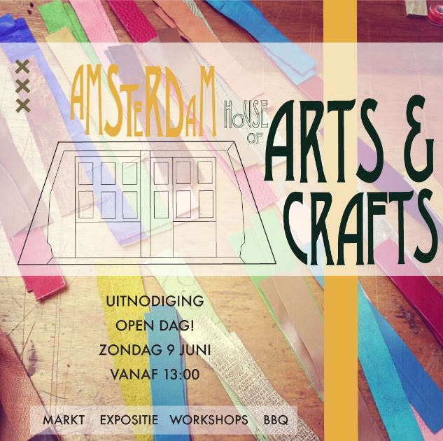 Open dag Amsterdam House of Arts and Crafts