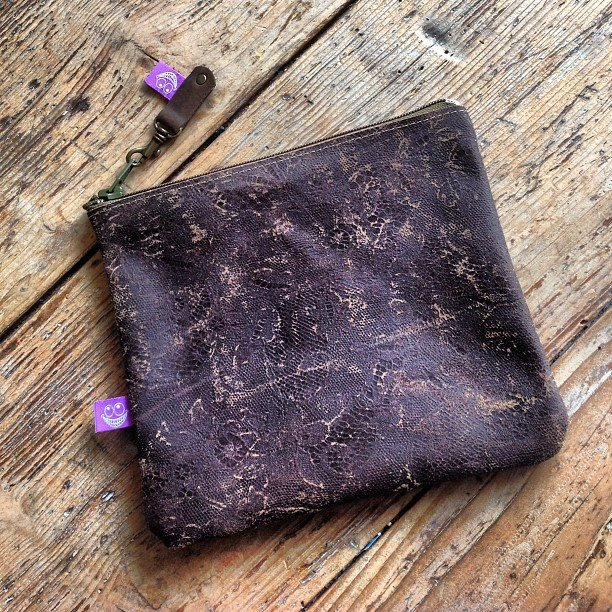 Handmade Brown Leather etui