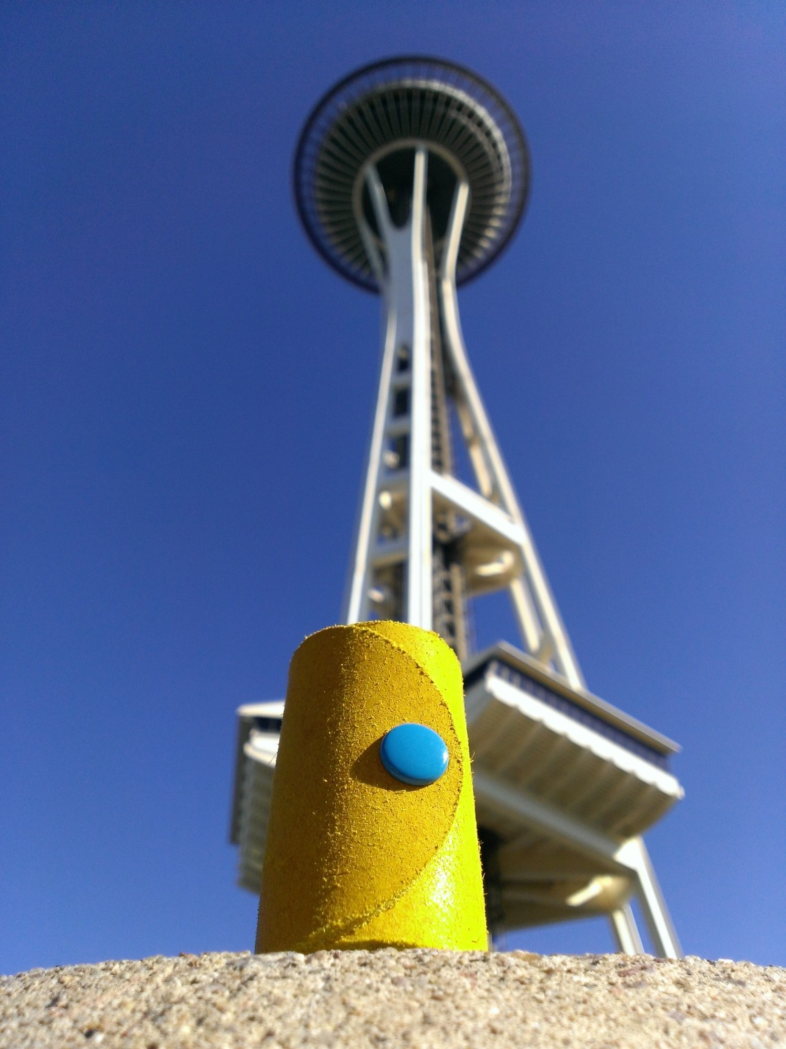 Space Needle and TheCrazyTube