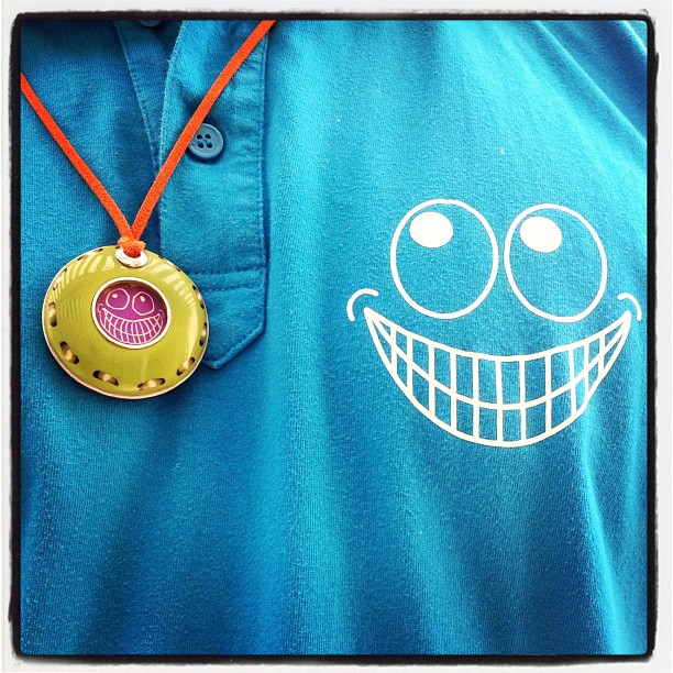 Medallion with a Smile by Lollapalooza