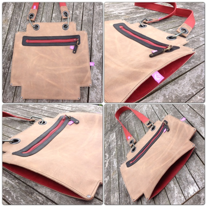 Positive Leather Bag Handmade