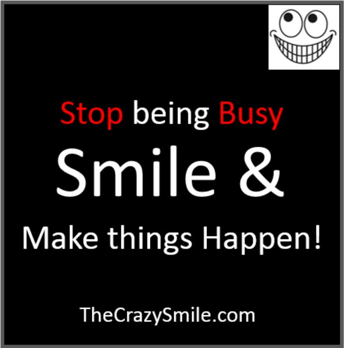 Sorry but saying you are busy lost its cool thecrazysmile quote thecrazysmile altavistaventures Image collections