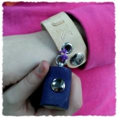 TheCrazyTube mini en armband van Elke