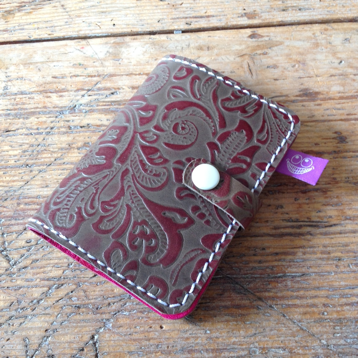 Leather cover for manicure set