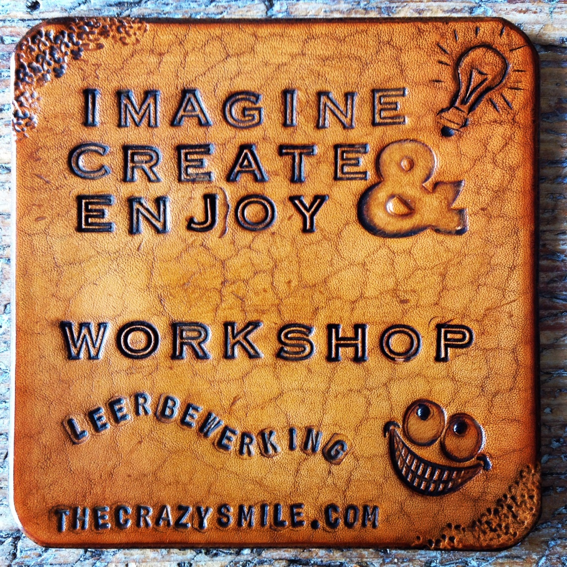 Workshop leerbewerking door TheCrazySmile